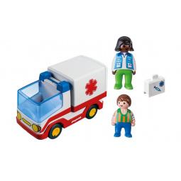 Конструктор для малыша Playmobil «Скорая помощь»