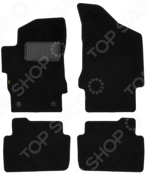 Комплект ковриков в салон автомобиля Klever Standart для Brilliance V5 кроссовер, 2011 атс ip yeastar standart