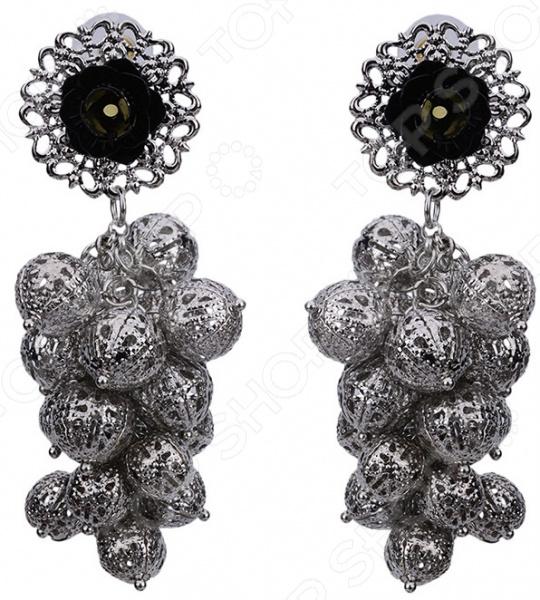 Серьги Bradex «Декаданс» жен серьги кольца мотаться на заказ круглый дизайн в виде подвески золотой серебряный круглый серьги назначение для вечеринок
