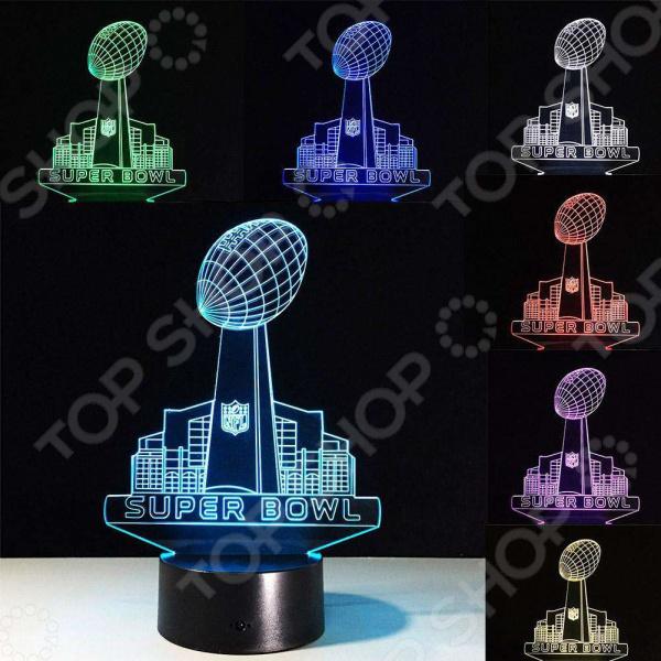 Светильник 3D Super Bowl