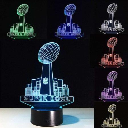 Купить Светильник 3D Super Bowl