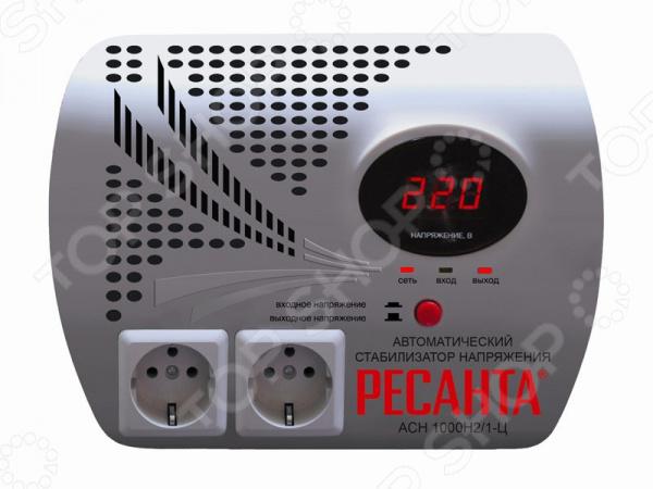 Стабилизатор напряжения Ресанта LUX АСН-1000Н2/1-Ц
