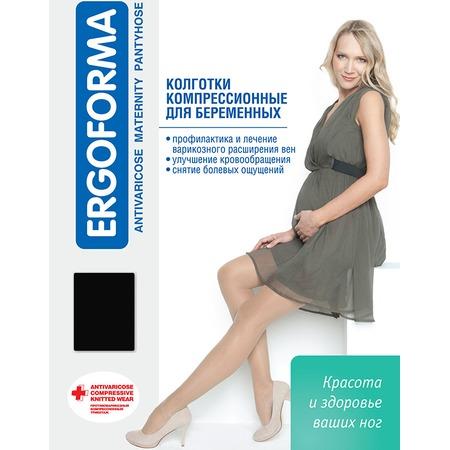 Купить Колготки медицинские эластичные компрессионные для беременных Ergoforma 113. Цвет: черный