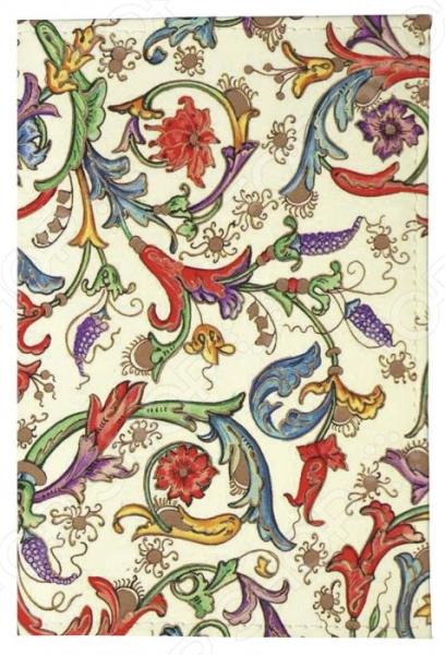Обложка для паспорта кожаная Mitya Veselkov «Райский сад» обложка для паспорта printio сад земных наслаждений