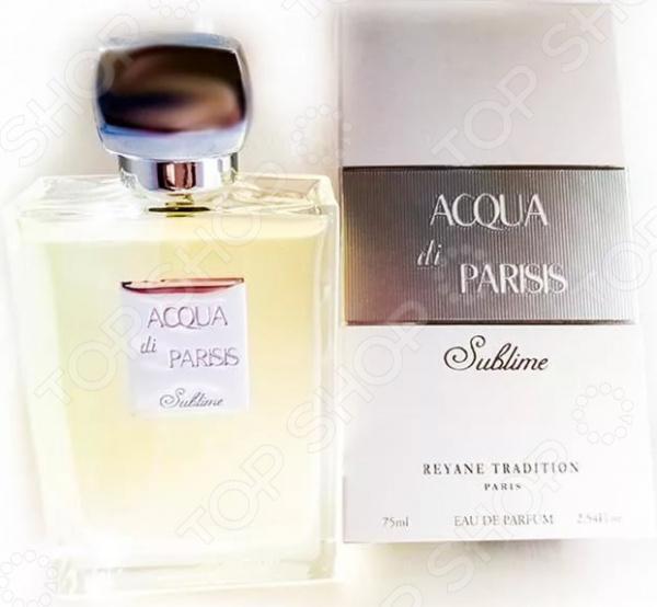 Парфюмированная вода для женщин Acqua Di Parisis Sublime, 75 мл bond женская парфюмированная вода di gardini desir 100 мл