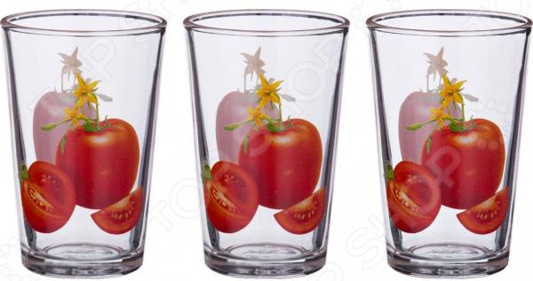 Набор стаканов «Томаты» 353-304