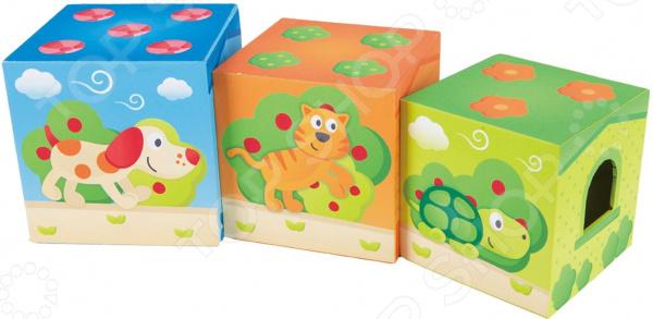 Игровой набор с кубиками Hape Friendship Tower