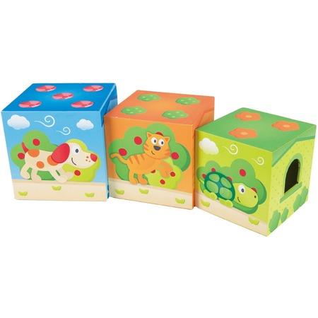 Купить Игровой набор с кубиками Hape Friendship Tower