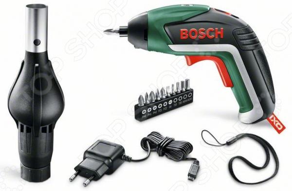 Шуруповерт аккумуляторный Bosch IXO V BBQ Set шуруповерт bosch ixo v bit set аккум патрон держатель бит 1 4