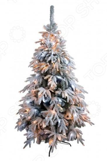 Ель искусственная Green Trees «Форесто Премиум» снежная световая