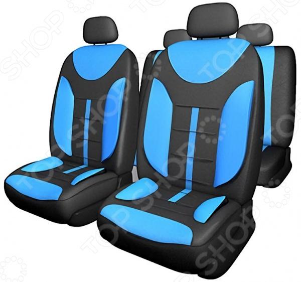 Комплект чехлов на сиденья автомобиля SKYWAY Drive-2