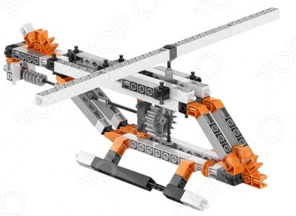 Конструктор механический Engino Discovering Stem «Шестерни и червячные передачи» конструктор engino stem01 discovering stem механика рычаги и рычажные механизмы
