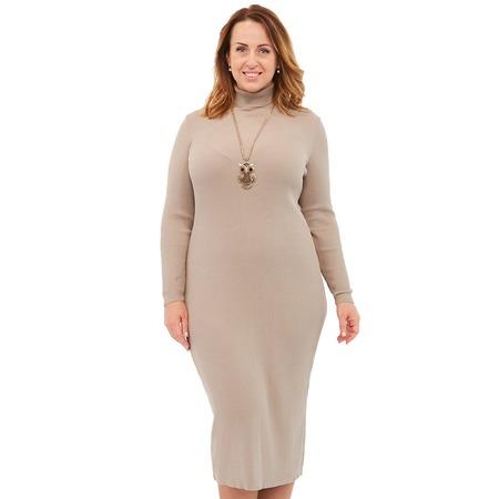 Купить Платье VAY 2237. Цвет: бежевый