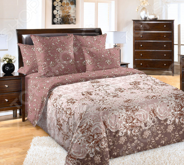 цена Комплект постельного белья Королевское Искушение «Флориана» онлайн в 2017 году