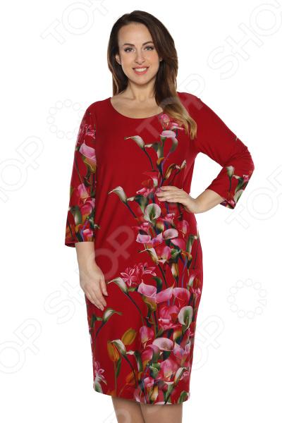 Платье Лауме-Лайн «Конфетка». Цвет: бордовый блуза лауме лайн перелетная птица цвет бордовый