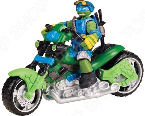 Игровой набор с фигуркой Nickelodeon «Мотоцикл-квадрокоптер с Лео»