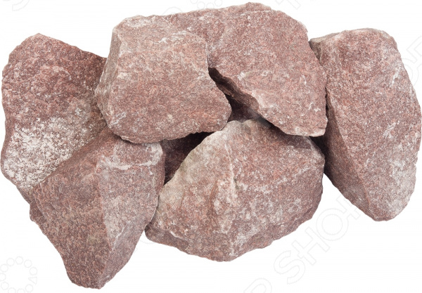 Камень колотый для бани и сауны Банные штучки «Кварцит»
