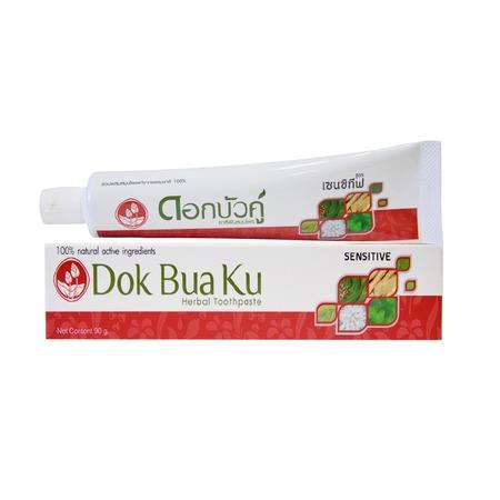 Купить Зубная паста для чувствительных зубов Twin Lotus Herbal Sensitive