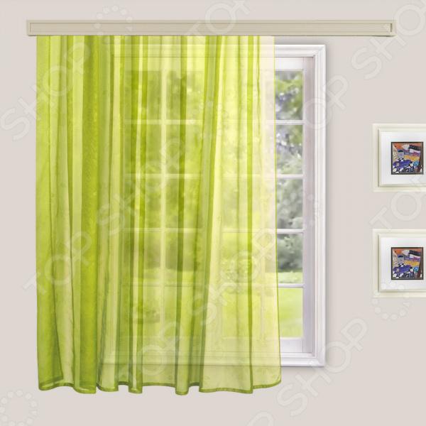 Тюль WITERRA. Цвет: ярко-зеленый. В ассортименте