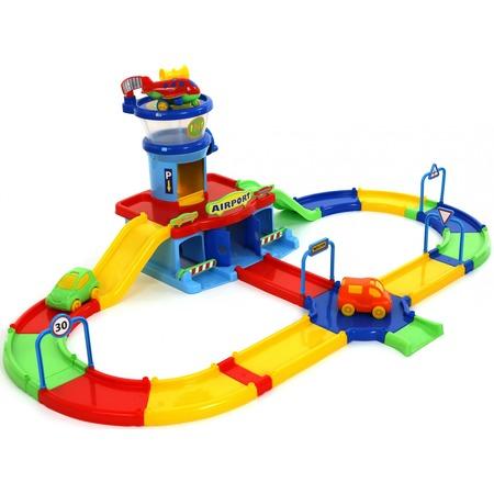 Купить Набор игровой для мальчика Wader Play City «Аэропорт с дорогой»