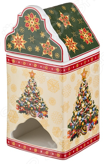 Банка для чайных пакетиков Lefard Christmas Collection 586-162