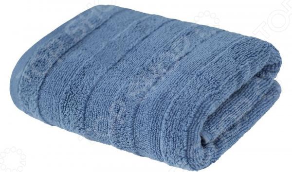 Полотенце махровое Ecotex «Авеню». Цвет: серый, голубой