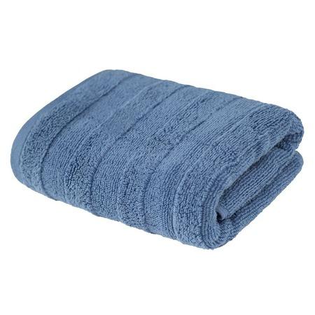 Купить Полотенце махровое Ecotex «Авеню». Цвет: серый, голубой