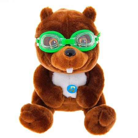 Купить Мягкая игрушка со звуком Bradex «Бобер»