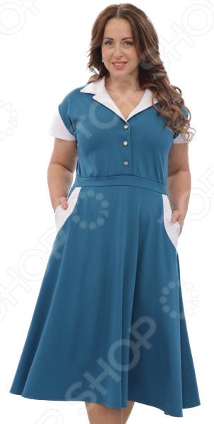 Платье Матекс «Петра». Цвет: аквамарин