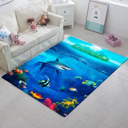 Купить Ковер ТамиТекс «Подводный мир»