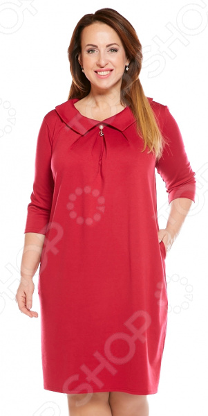 Платье Pretty Woman «Райский уголок». Цвет: малиновый