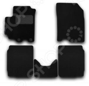 Комплект ковриков в салон автомобиля Novline-Autofamily Suzuki SX4 2013 кроссовер. Цвет: черный комплект ковриков в салон автомобиля novline autofamily mercedes benz gl class x164 2006 внедорожник цвет бежевый