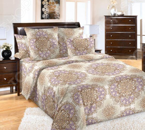 Комплект постельного белья Королевское Искушение «Арабески». 1,5-спальный