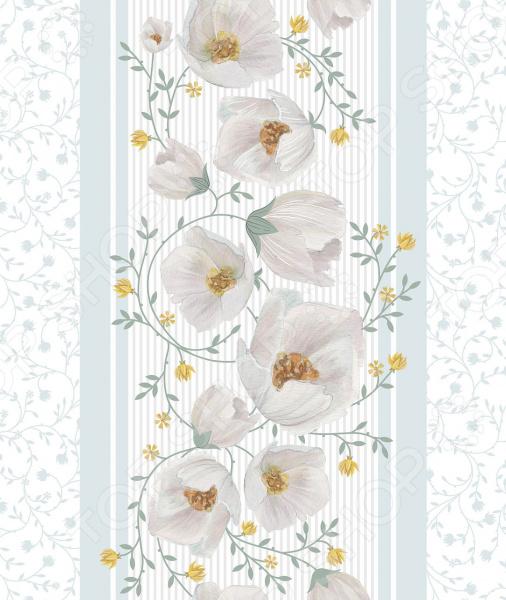 Полотенце вафельное Романтика «Аромат жасмина» полотенце вафельное 50 70 романтика розовый ноктюрн