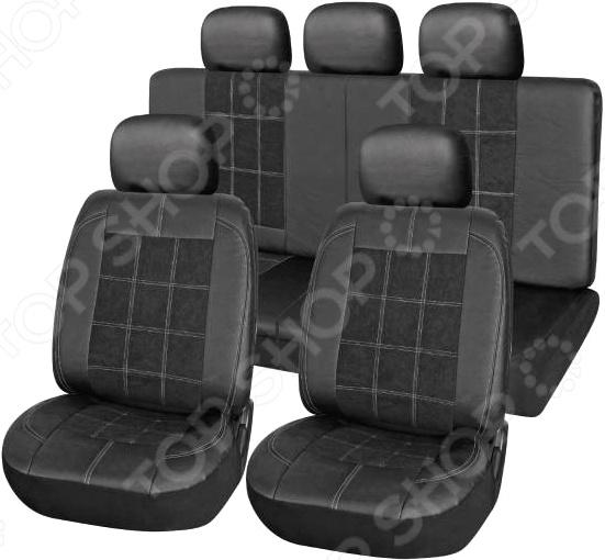 Набор чехлов для сидений SKYWAY Forsage S01301091 поворотный механизм для сидений в украине