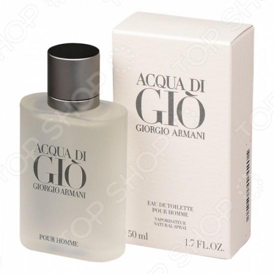 Туалетная вода для мужчин Giorgio Armani Acqua Di Gio giorgio armani парфюмерный набор мужской acqua di gio profumo 3 предмета