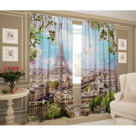 Купить Фотошторы ТамиТекс «Солнечный Париж»