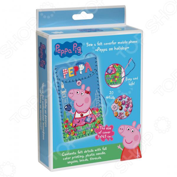 Набор для шитья из фетра Peppa Pig «Пеппа на каникулах»
