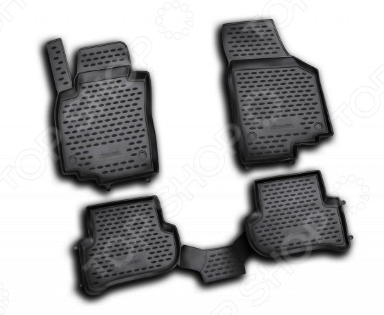 Комплект ковриков в салон автомобиля Element Skoda Yeti 2009