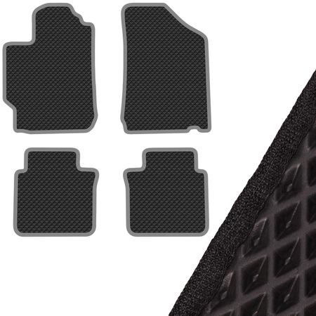Купить Комплект из 4-х ковриков в салон автомобиля с левым рулем SKYWAY Toyota Camry (2011)