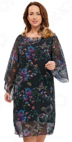 Платье Матекс «Новогодний карнавал». Цвет: черный новогодний карнавал
