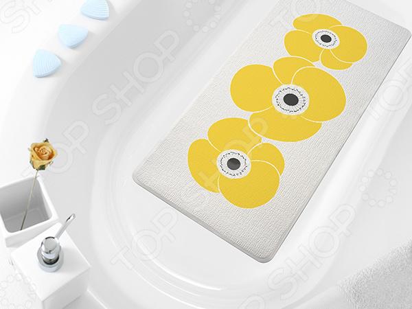 Коврик в ванну Bacchetta Petunia фабрика демьяновъ коврик в ванну анна силивончик маленькое сердце