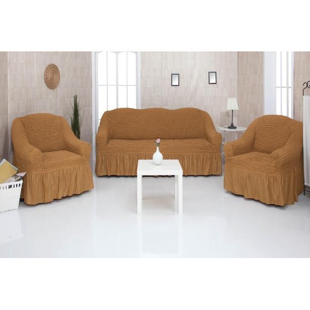 фото Комплект чехлов для мягкой мебели «Дольчевита»