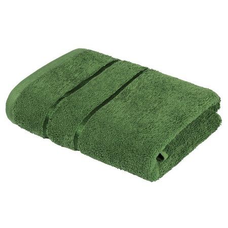 Купить Полотенце махровое Ecotex «Египетский хлопок». Цвет: зеленый