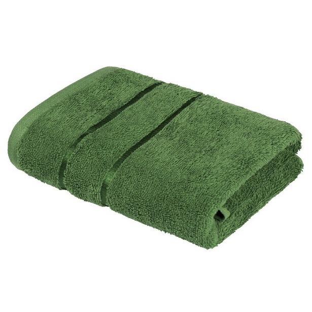фото Полотенце махровое Ecotex «Египетский хлопок». Цвет: зеленый