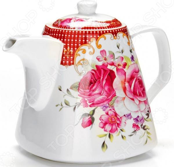 Чайник заварочный Loraine «Цветы» 26546