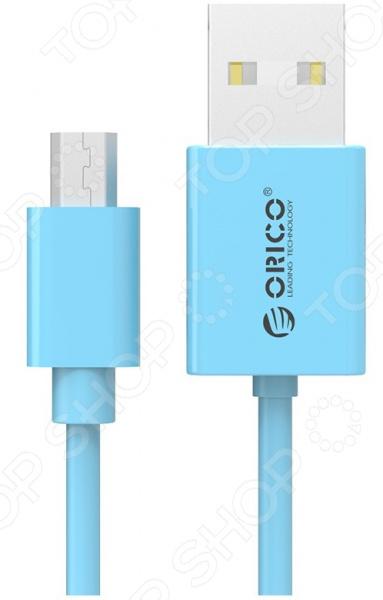 Кабель синхронизации Orico BDC-10 orico orico lte 10 apple зарядный кабель эндрюс эндрюс lightning двойной комбинированный многофункциональный usb кабель для зарядки 1 метр синий