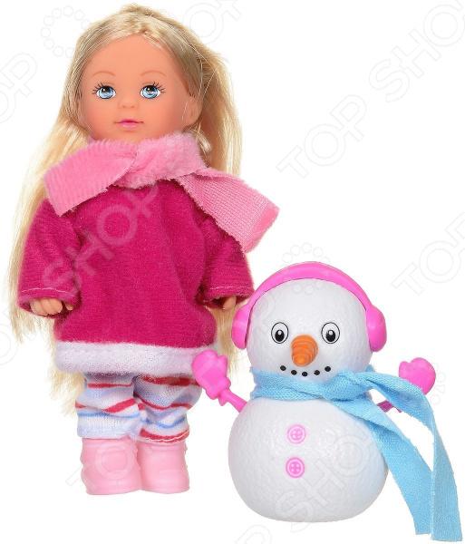Кукла EVI с снеговиком