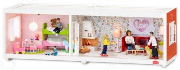Дополнительные аксессуары к кукольному домику Lundby «Этаж для домика Смоланд» аксессуары для домика смоланд lundby батут с машинкой