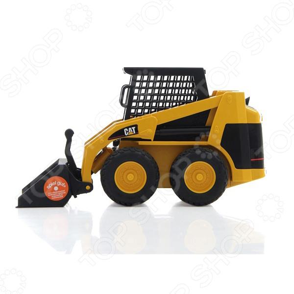 Машинка игрушечная Bruder «Мини Погрузчик CAT с ковшом»